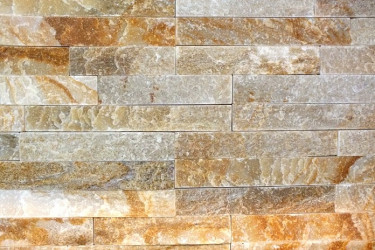 Wall stone panels - Mini Yellow