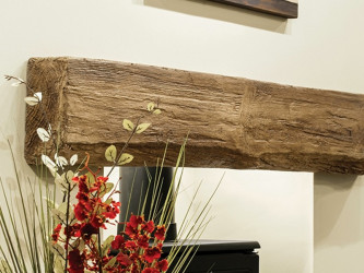 Netherton Oak Effect Fireplace Beam