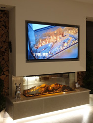 New Forest 1200 Panoramic LED Electric fire