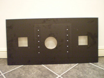 Deluxe Stove Register (Closure) Plate
