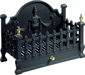 Castle basket -  black