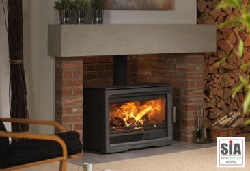 PureVision PV85 HD MK Active baffle high definition multifuel stove