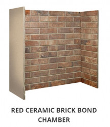 Red Ceramic Brick Bond chamber