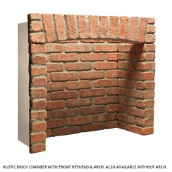 Rustic Red Brick chamber with returns & arch