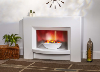 Aspect Electric Fireplace Suite