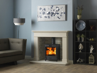 Sunvision 8 (8kW) DEFRA & SIA Ecodesign wood burning & multi fuel stove