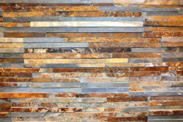 Wall stone panels - Thin Rusty