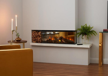 New Forest 870 Panoramic LED Electric fire