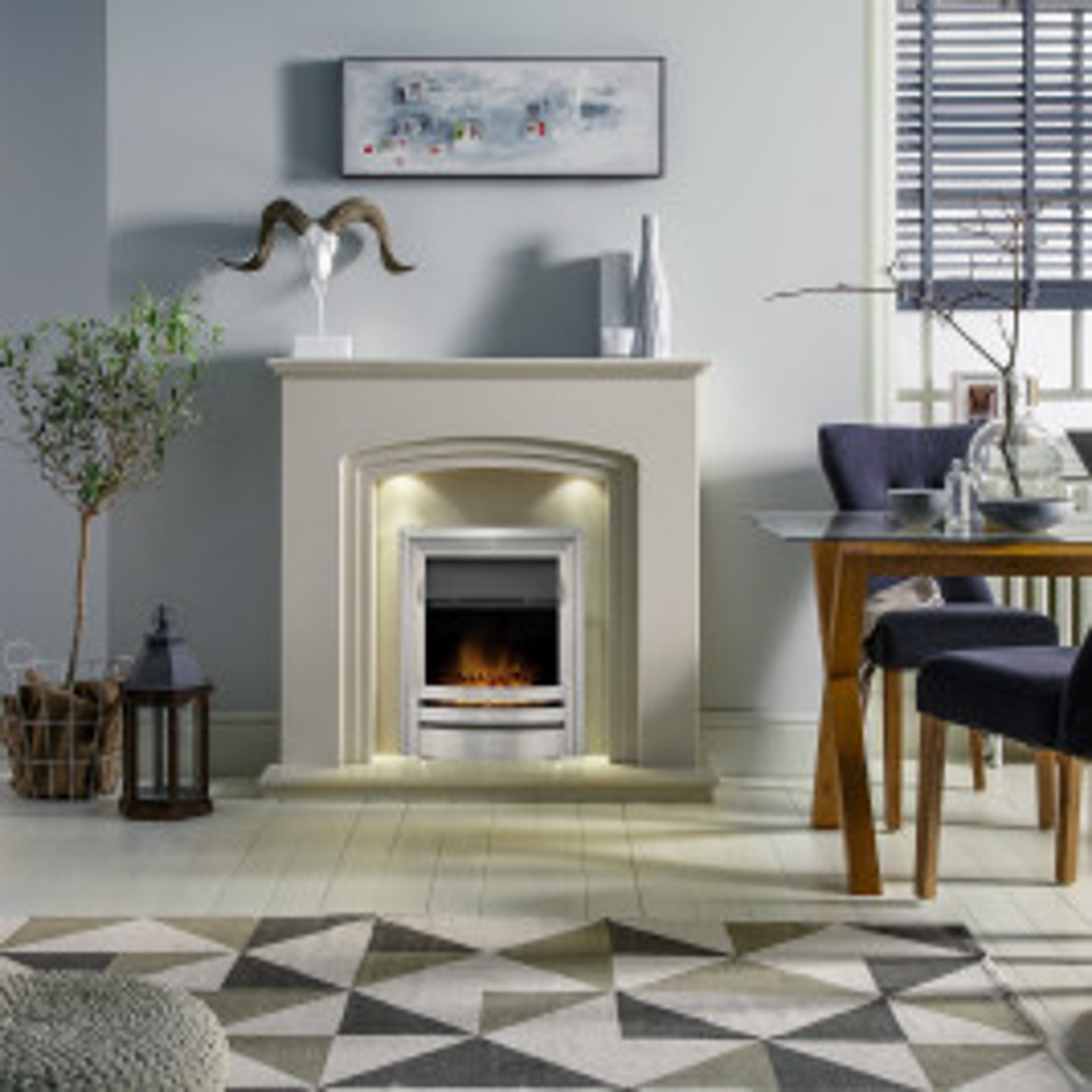 Modo Fireplace