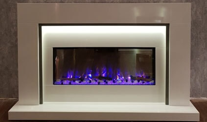 V-tec Fireplace Suite
