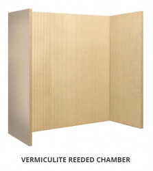 Vermiculite Reeded chamber (set of 4)