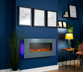 Victoria Wall Mounted Electric Fire