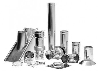 Vision Trimline Flue Kits - Up & Out