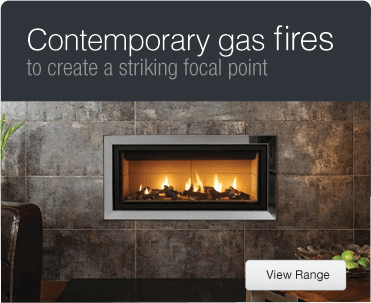 Fireplaces electric fires gas fires wood burning stoves for Modern gas fireplace price
