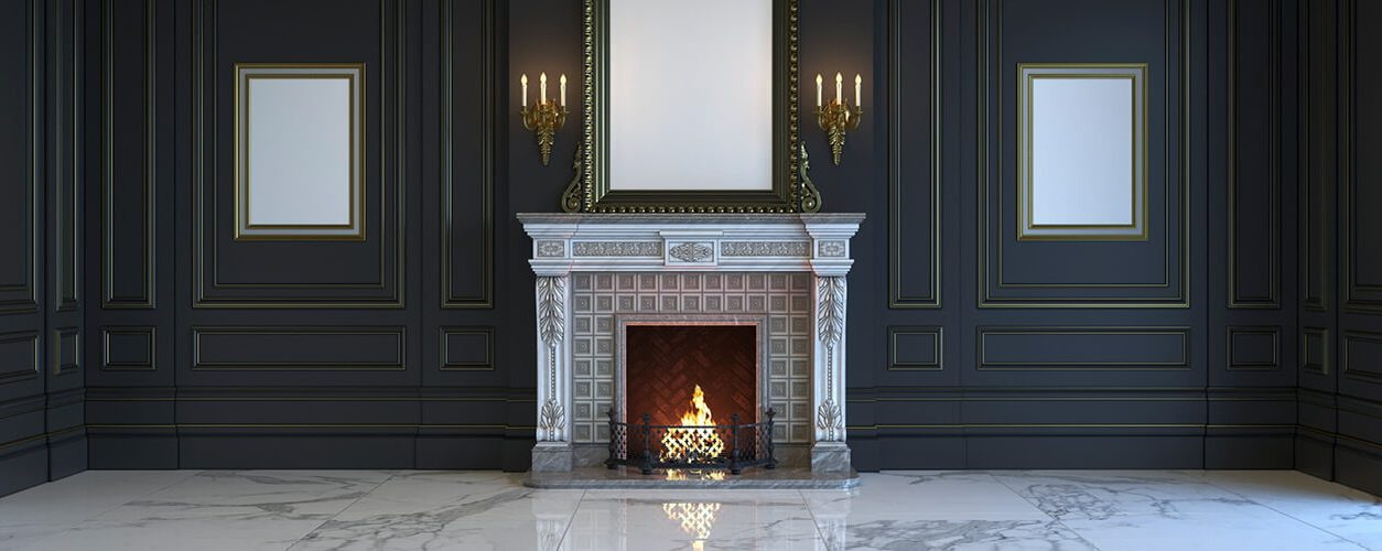 Fireplace fashions through the ages