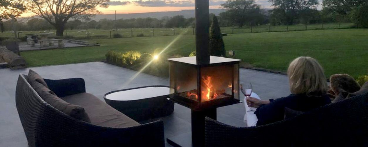 Enjoy your garden all year round with a patio heater