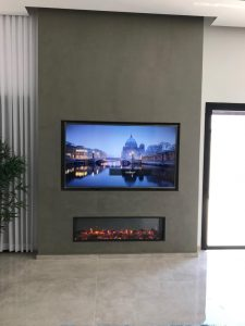 Find The Right Height To Hang a TV above your fireplace!